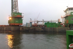 Neubau einer Anlegestelle und Verladestation für Tanker für die BP Group Amsterdam - Schrader Montage GmbH Beckum