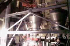 Installation einer Unterstützungskonstruktion für ein Braunkohlestaub-Silo - Schrader Montage GmbH Beckum