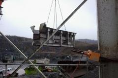 Demontage einer Brecheranlage bei Westkalk - Vereinigte Warsteiner Kalksteinindustrie GmbH & Co. KG - Schrader Montage GmbH Beckum