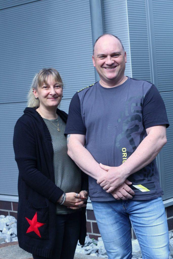 Mitarbeiter und Geschäftsführer der Schrader Montage GmbH aus Beckum